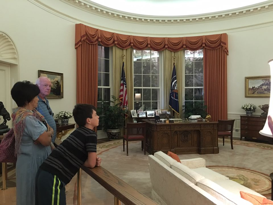 reagan oval office. The Oval Office Exhibit At Reagan Library