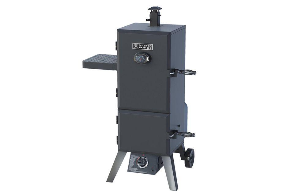 Master Forge Double Door Liquid Propane Gas Smoker