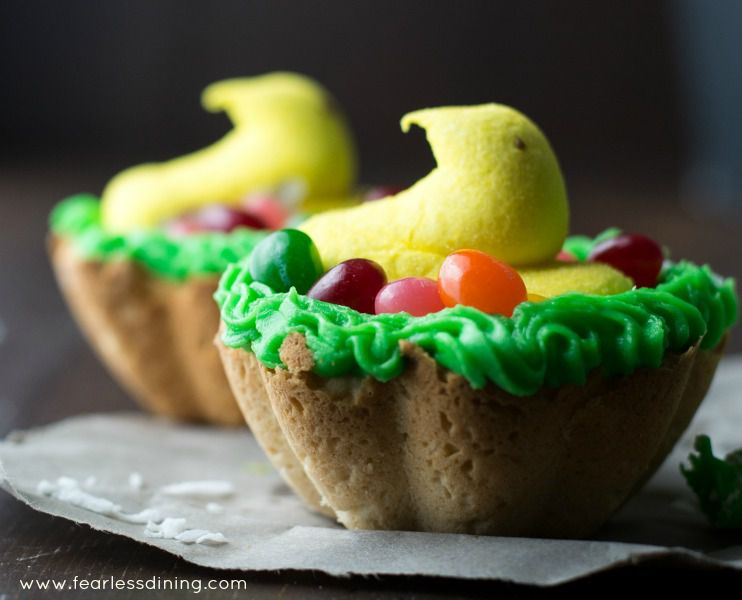 Gluten-Free Lemon Cookie Nests