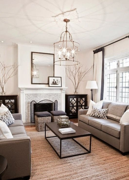 A Decorator's Guide To Living Room Basics