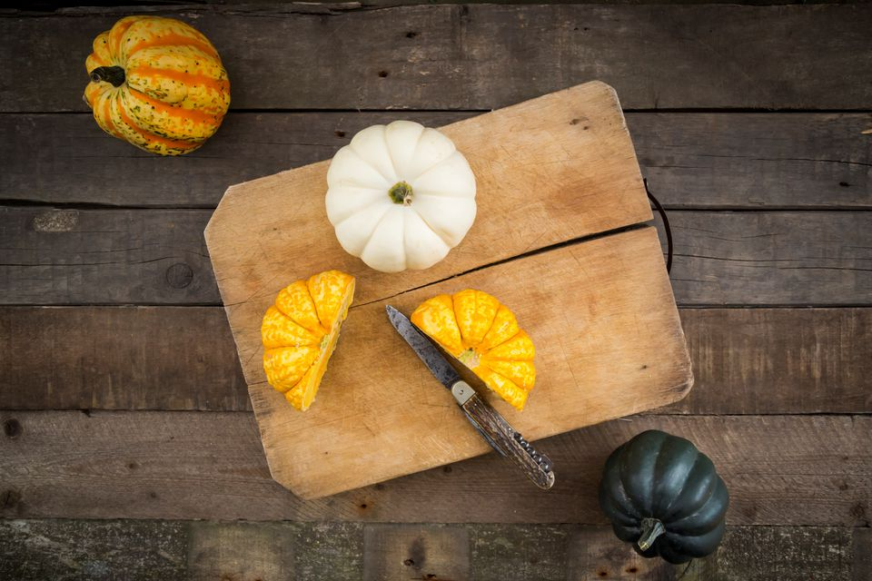 Grilled Acorn Squash with Asiago Cheese