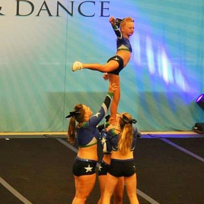 Cheer stunt group classic - 2 part 8