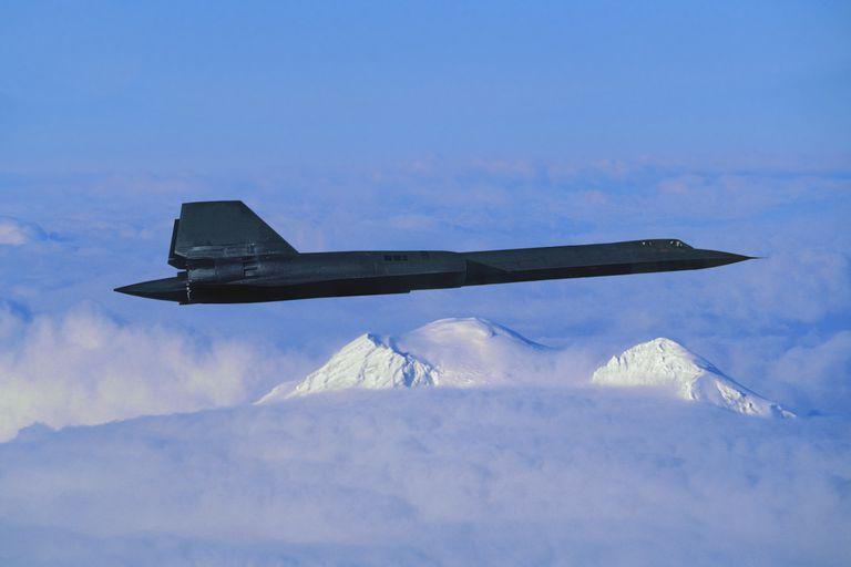 US Air Force SR-71A Blackbird