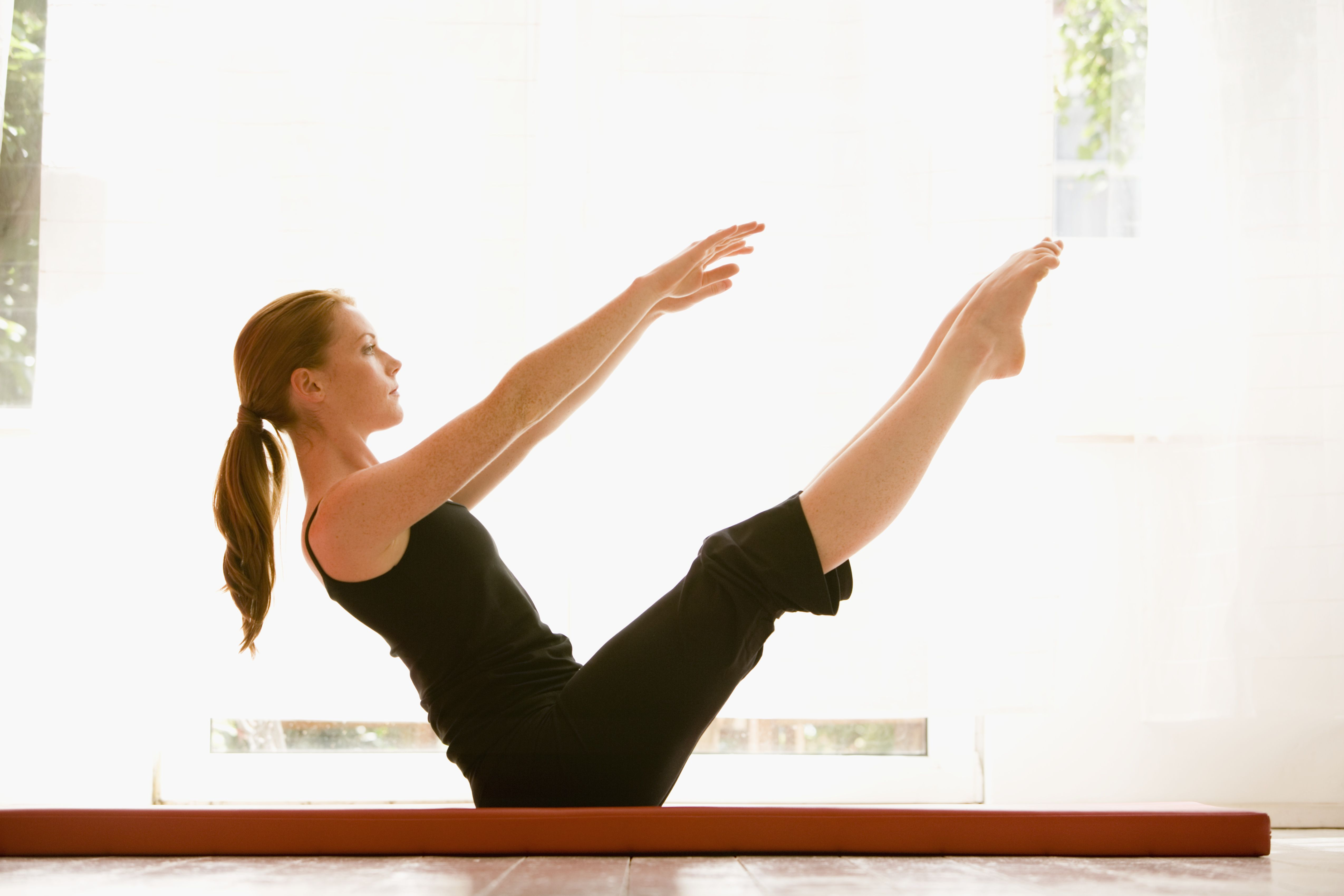 30 Days To A Perfect Pilates Teaser Exercise