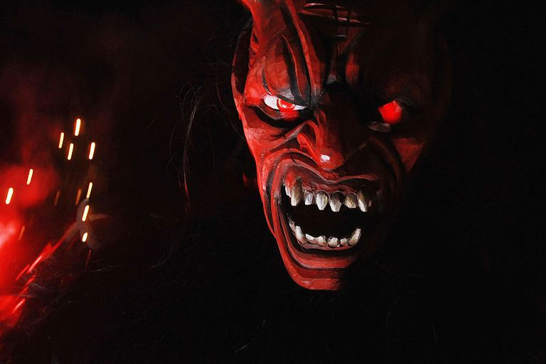 Satanic face