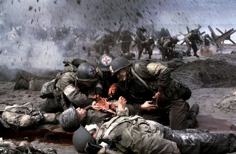 saving private ryan essay on opening scene