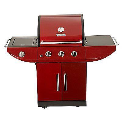 Kenmore Red 3-Burner Gas Grill (model #16301)