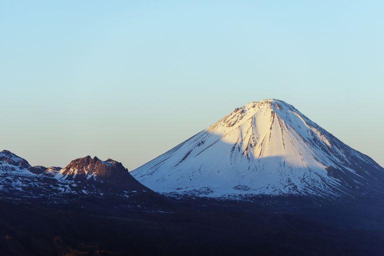 Mount Ararat, a dormant volcano in Turkey.