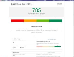 Quicken 2015 adds quarterly credit score reports.