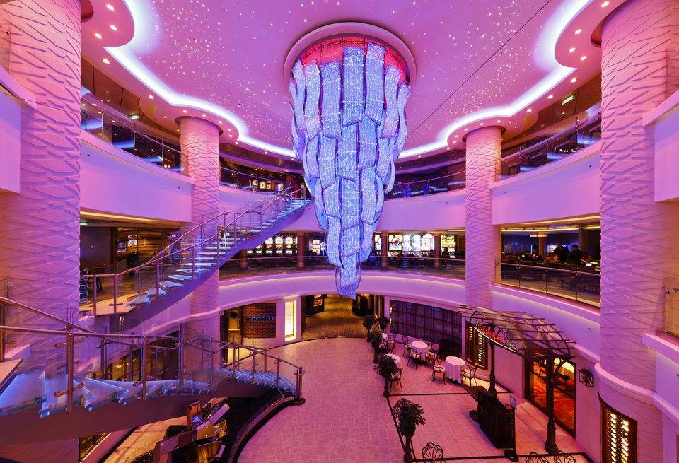 Norwegian Escape Atrium