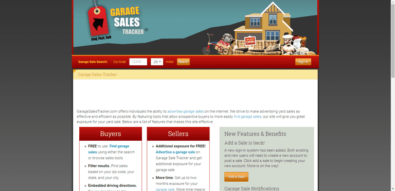 Five Sites For Finding The Best Garage Sales Online - Norway rummage sales 2015 map