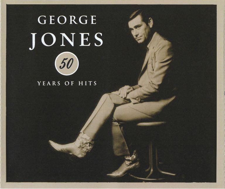 George Jones 50 Years of Hits album cover