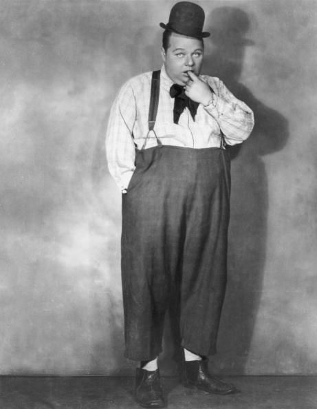 A picture of silent screen comedic actor Fatty Arbuckle.
