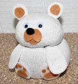 Bean Bag Bear Craft