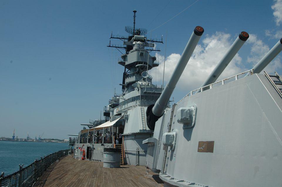 Battleship MIssouri - The Mighty Mo