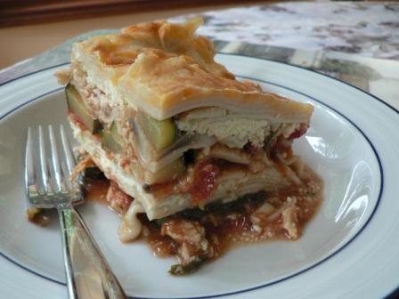 Chicken and Zucchini Lasagna