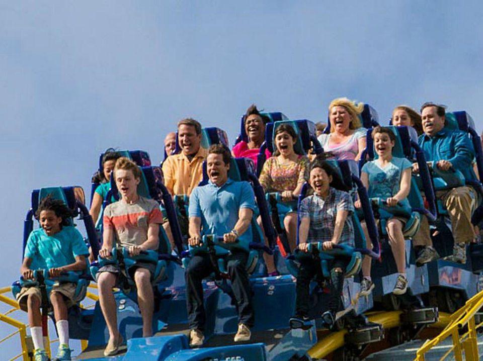 Hersheypark - Skyrush roller coaster