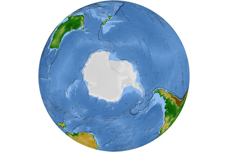 The Southern Ocean Is The Fifth And Newest World Ocean - The four major oceans