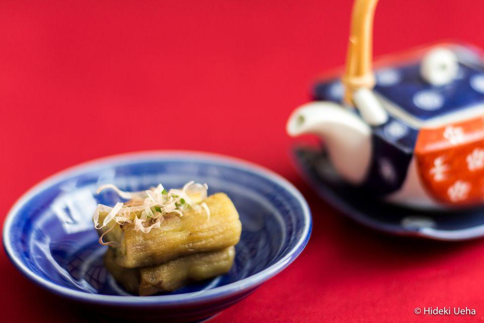 grilled Japanese eggplant