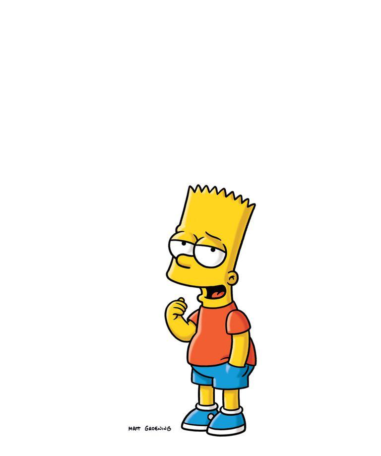 Bart Simpson Blank Chalkboard