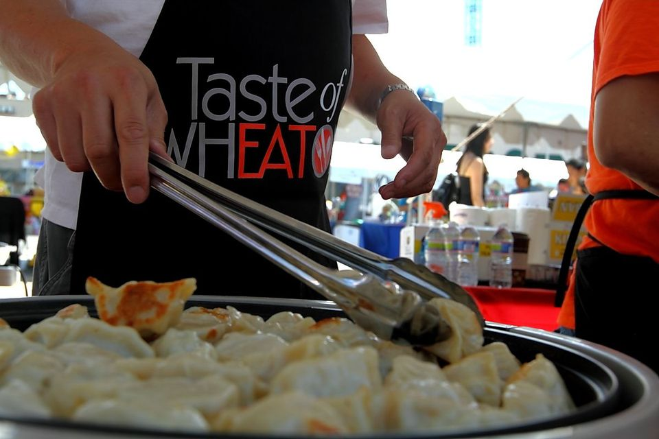 Taste Of Wheaton Food Vendors