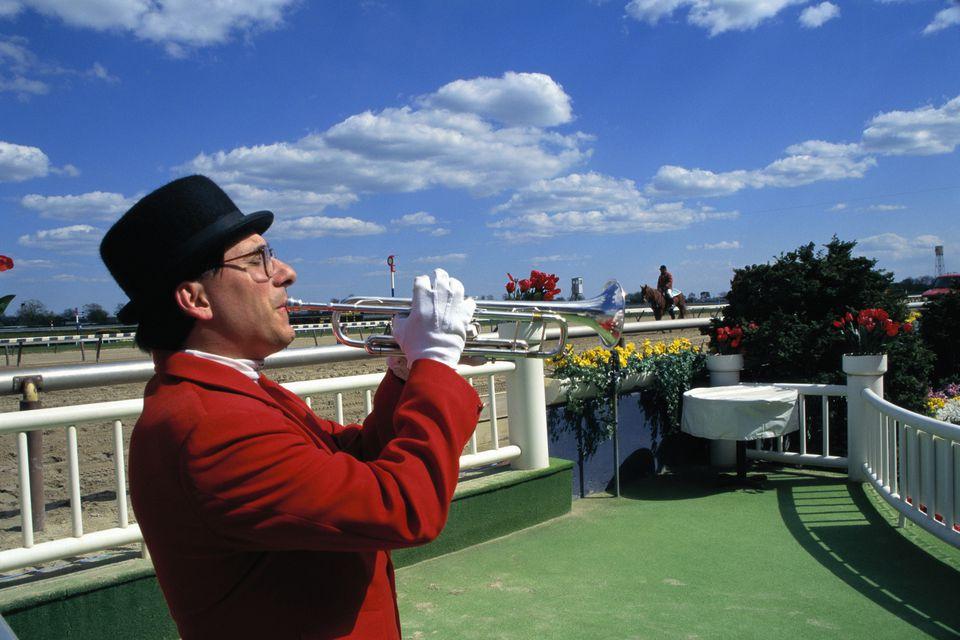 Trumpeter at Aqueduct Raceway