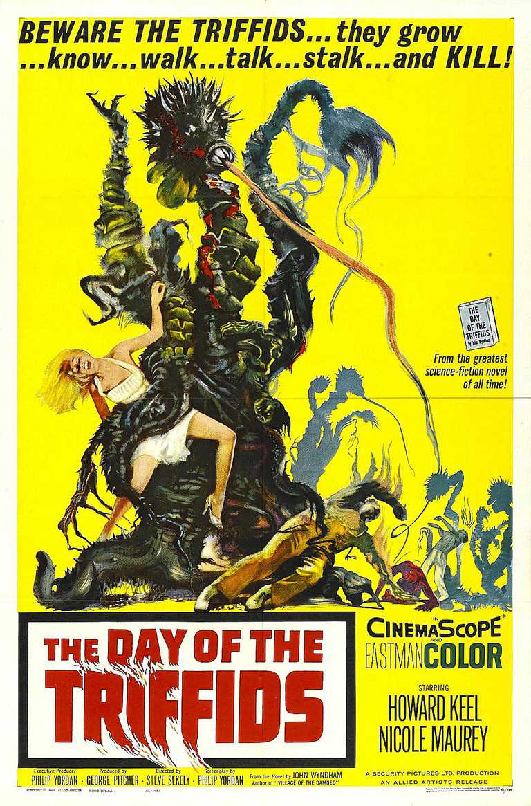 Day of the Triffids alien movie