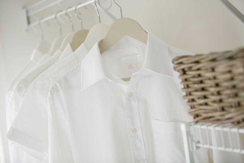 Clean white shirts