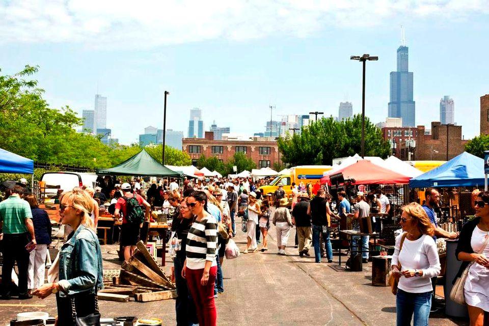 Chicago's Randolph Street Market