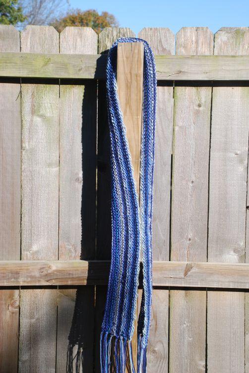 Horizontal Scarf Free Knitting Pattern
