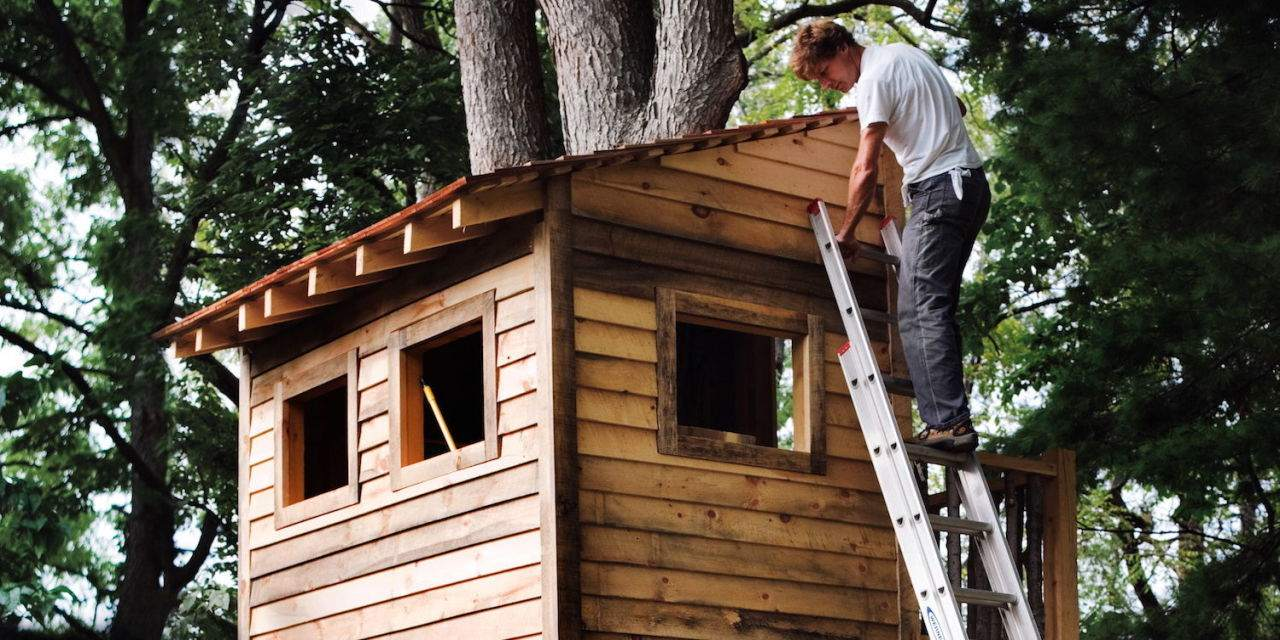 Tree house kits lowes house plan 2017 for Treehouse kits do it yourself