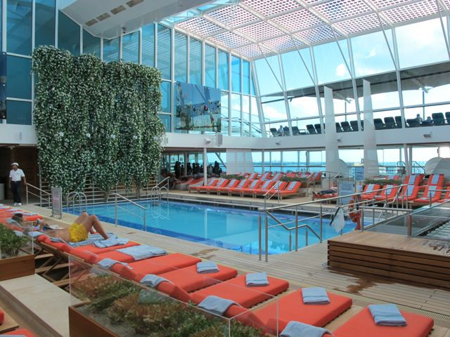 Celebrity Eclipse Adults pool
