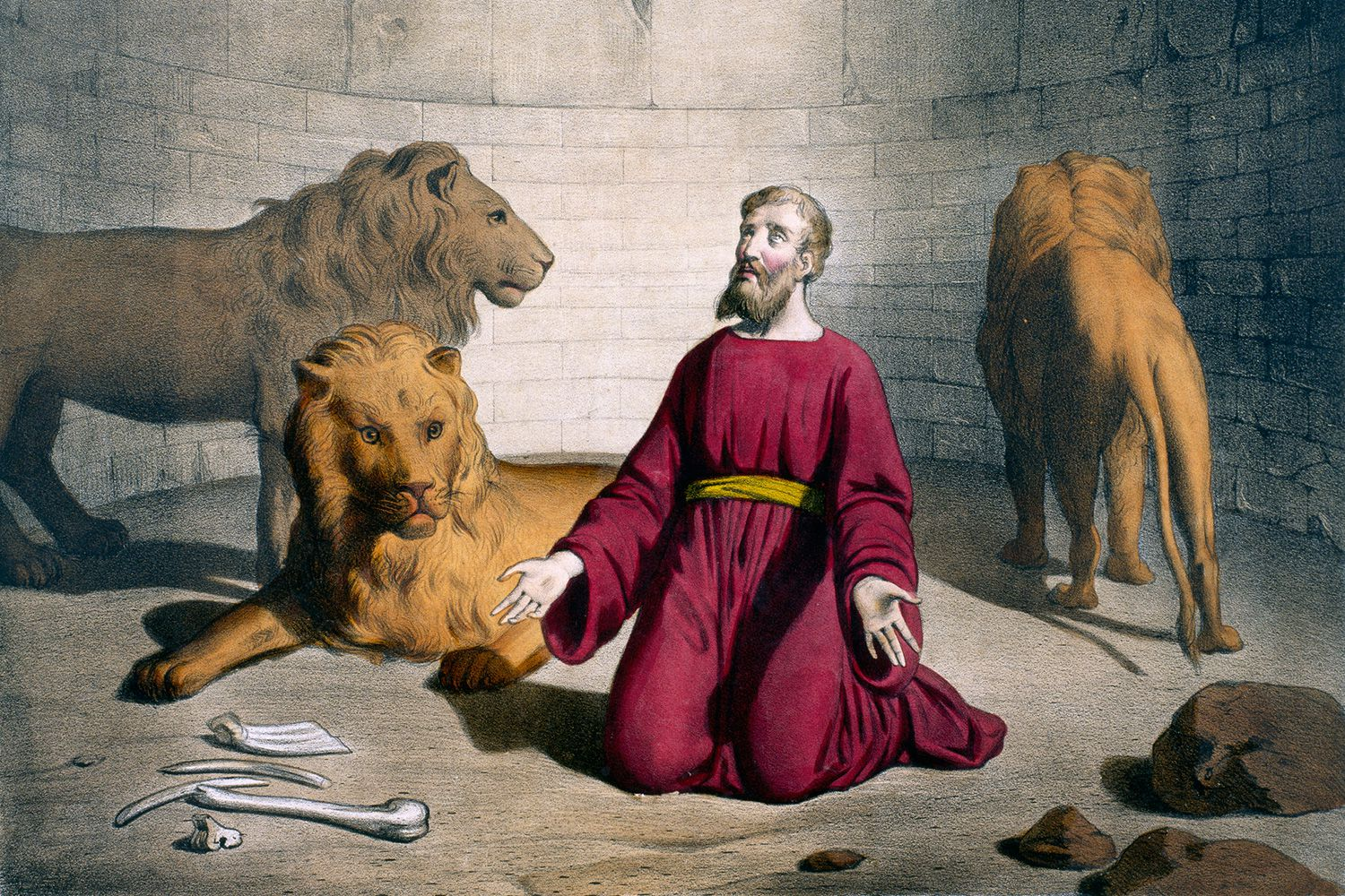 the envy of the servants in daniel in the lions den Keil and delitzsch ot commentary daniel in the den of lions is a deification of the world-power for the purpose of oppressing the true servants of god.