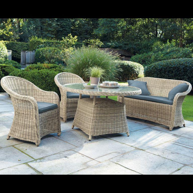 Muebles de exterior 7 materiales y tendencias - Muebles resina exterior ...