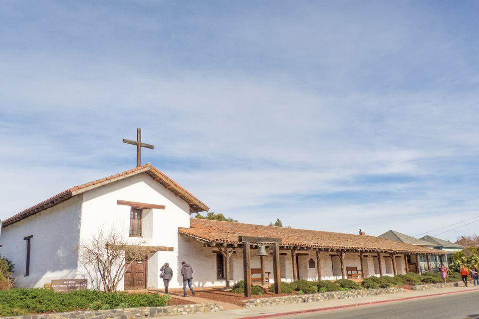 Mission San Francisco Solano in Sonoma, California