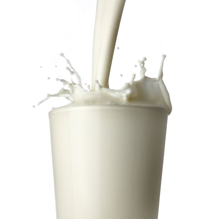 Milk boils at a higher temperature than water.