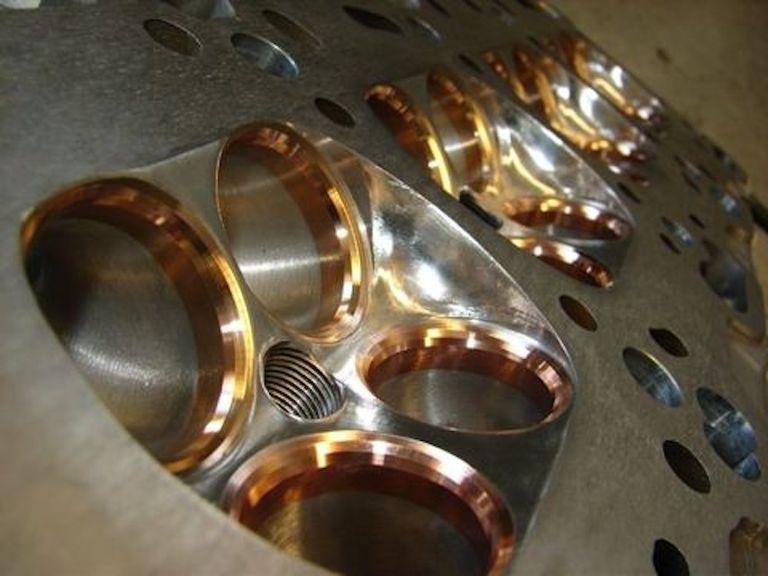 copper beryllium valve seats