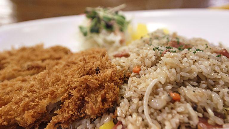 Fried Rice & Pork Cutlet