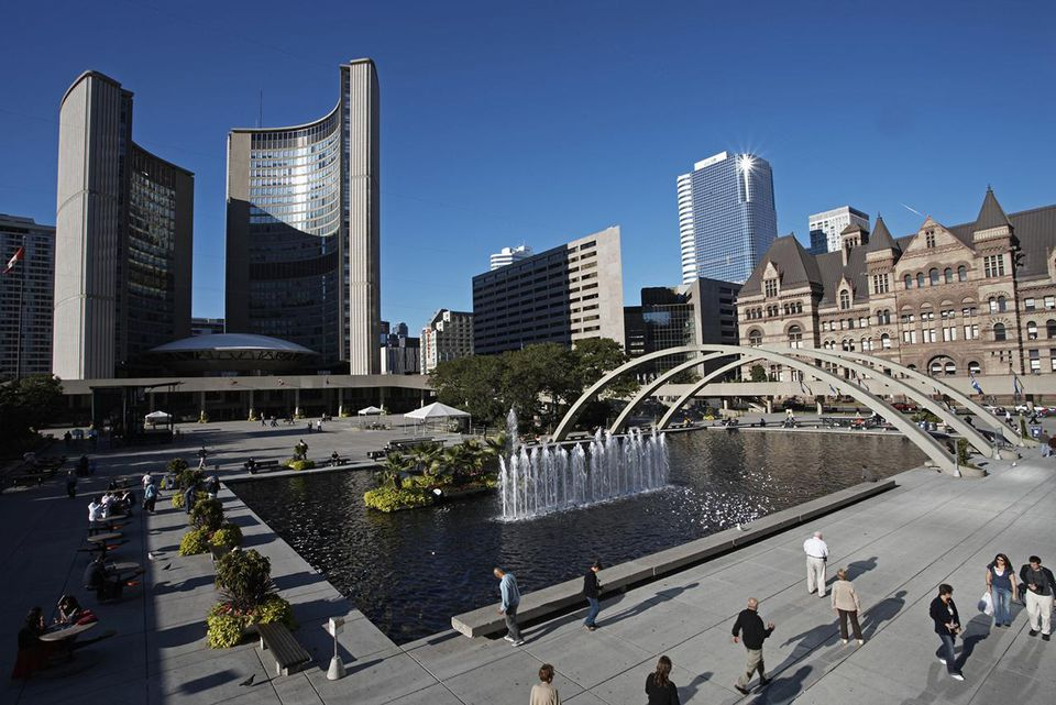 Canada, Toronto, City Hall complex