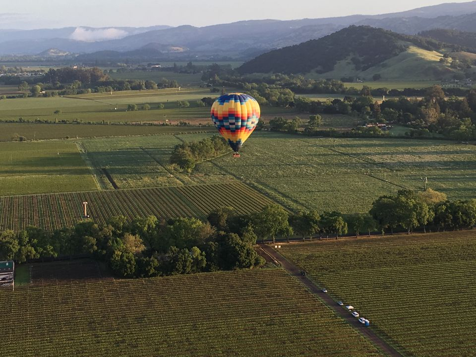 napa valley activities for business travelers, napa valley balloons