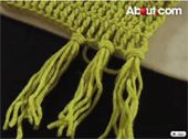 Adding Fringe to a Crocheted Scarf