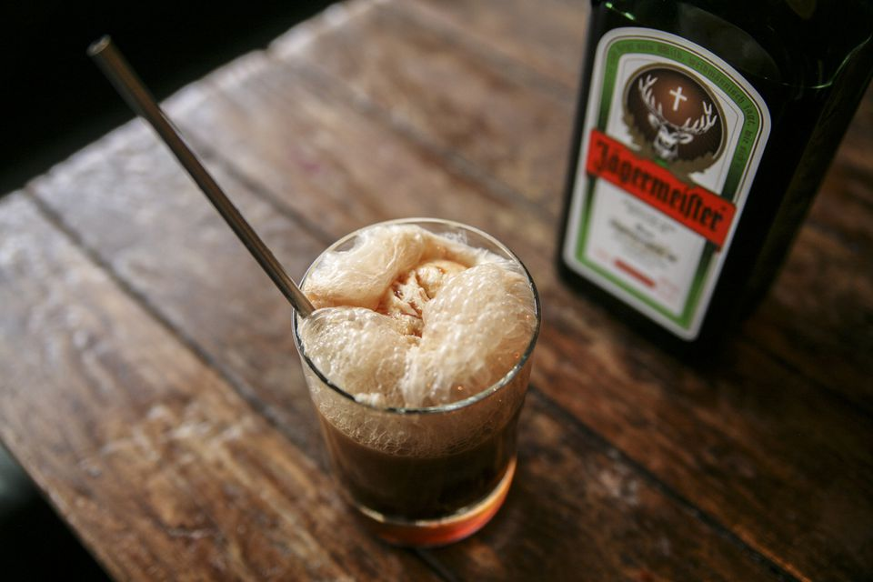 Jagermeister's The Inside Scoop Root Beer Float Cocktail