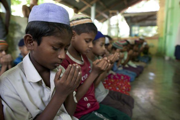 The Rohingya are a persecuted Muslim minority in majority-Buddhist Myanmar.