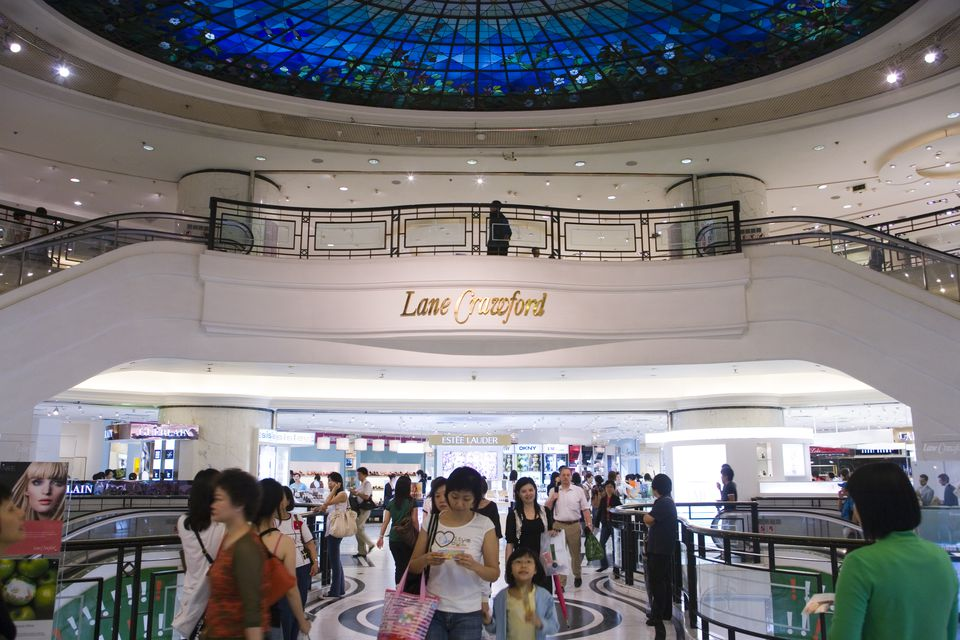 Lane Crawford Department store, Times Square, Causeway Bay.