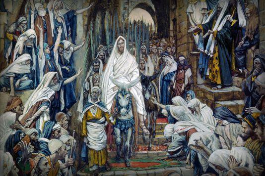 jesus entetres jerusalem
