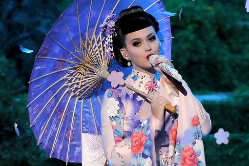 Katy Perry appropriated Asian culture when she performed dressed as a geisha at the 2013 American Music Awards.