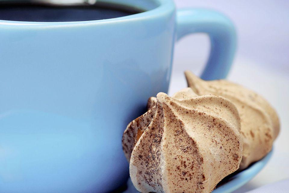 Delicious Coffee Meringues