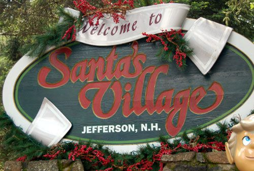 Welcome to Santa's Village in Jefferson NH