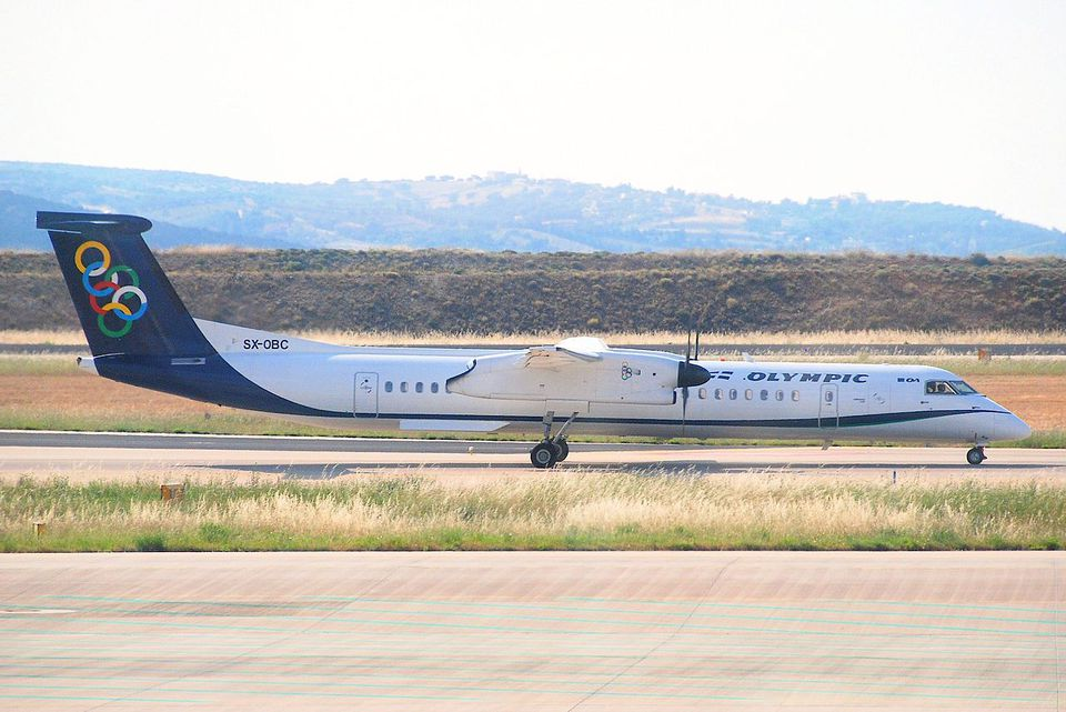 Olympic Air DHC-8-400 Dash 8; SX-OBC@ATH;12.06.2011/600ai