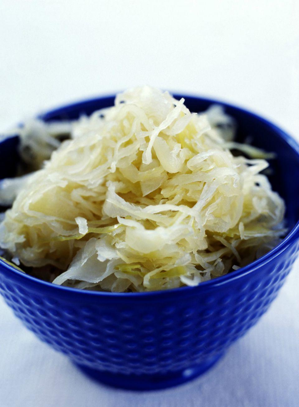 Traditional German sauerkraut